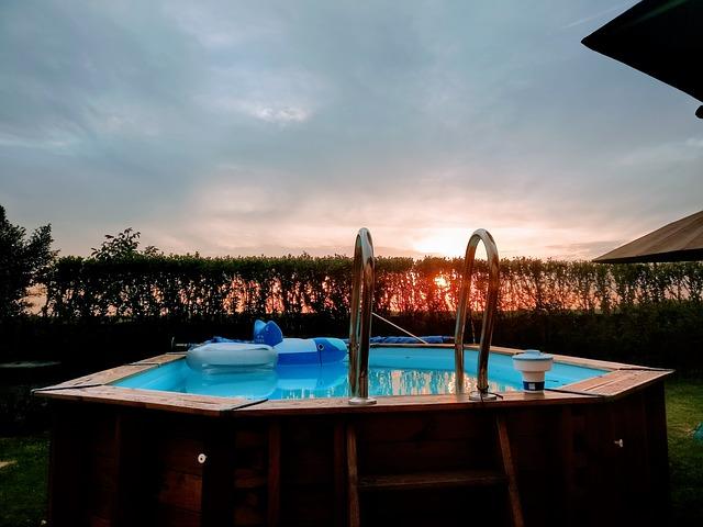 obložený bazén