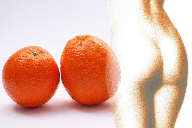 pomeranče a celulitida
