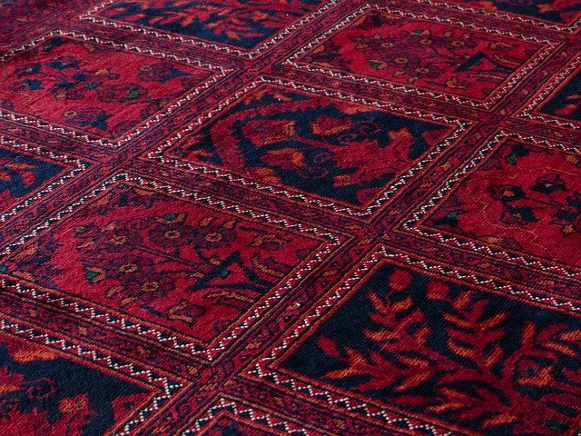 koberec se vzory