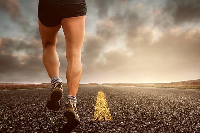 běh po silnici
