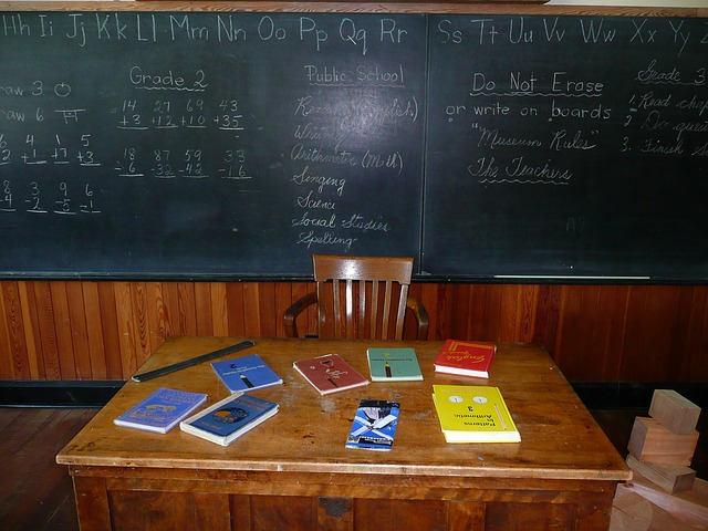 stůl učitele