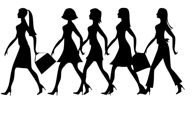 dámy s kabelkami