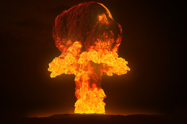 jaderný výbuch