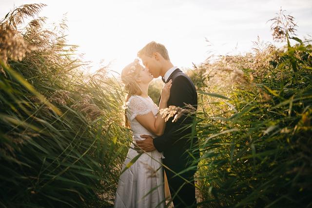 svatební dvojice
