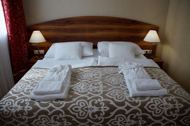 hotelový textil pro pohodlí hostů