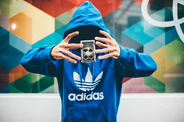 Značková mikina Adidas