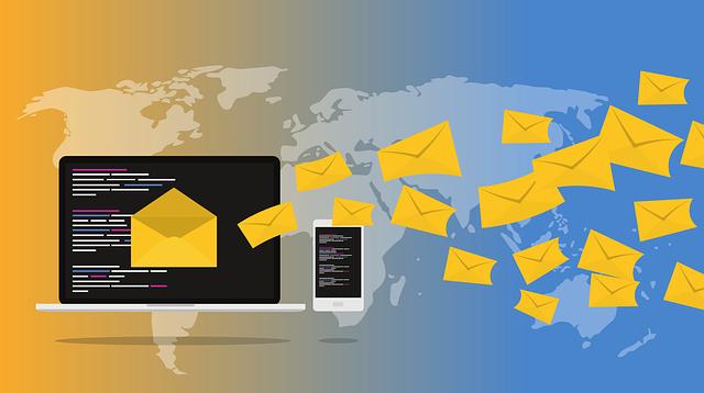email do počítače