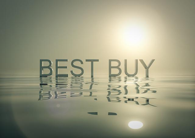 nápis best buy