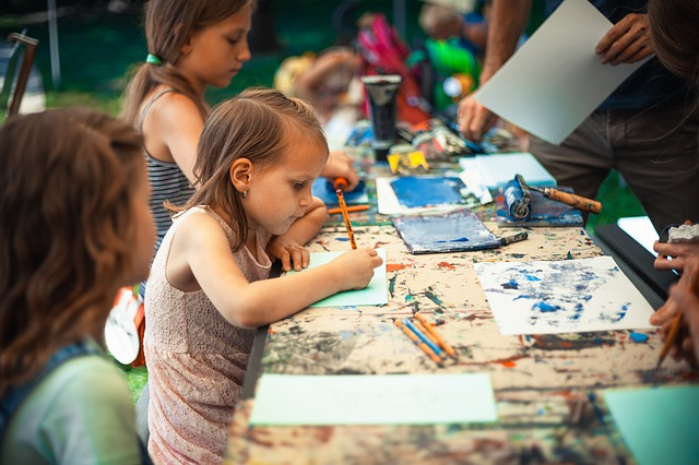 děti a tvoření