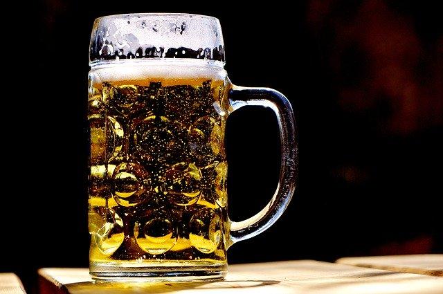 upité pivo