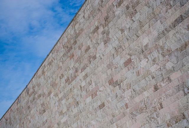 cihlová stěna