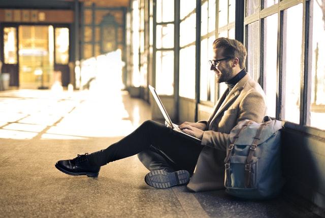 na notebooku se dá pracovat všude