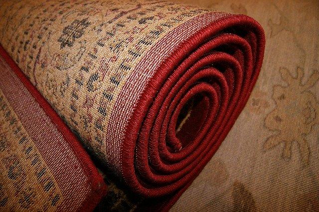 rolovaný koberec